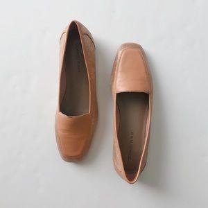 Donald J. Pliner | pink glitter loafer flats